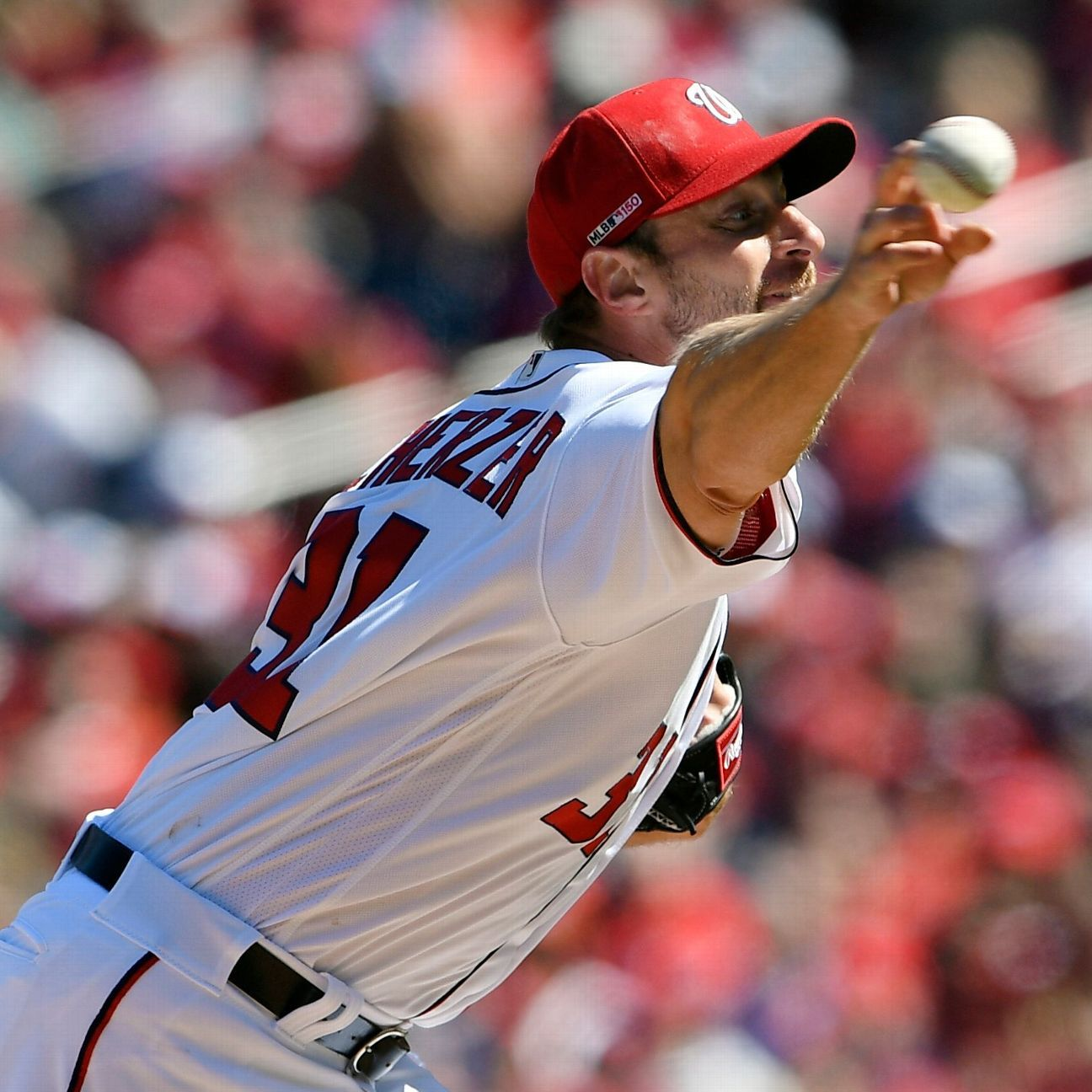 Nationals pitcher Max Scherzer has supplanted Angels