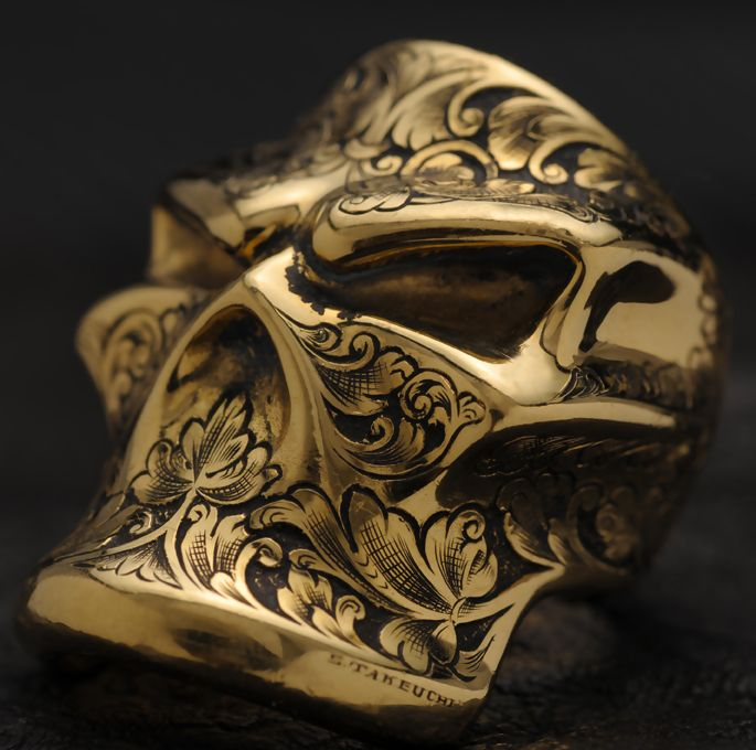 Engraved Stealth Starlingear ring