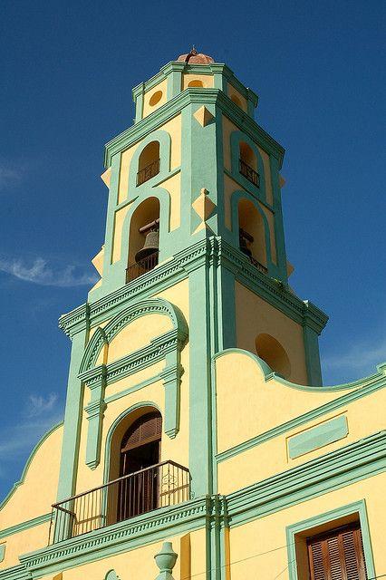 Belltower, Trinidad Cuba #cubaisland