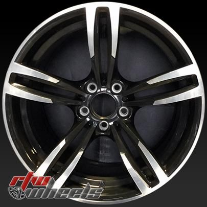 Bmw M Series Oem Wheels For Sale 2015 2016 19 Machined Black Rims 86095 Oem Wheels Wheels For Sale Bmw M Series