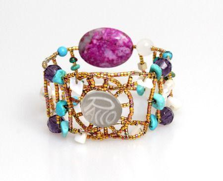 Geschenkidee, Armbänder, Schmuck, Damen, Silber, Halbedelsteinen, handgefertigt, PACCO Jewelry