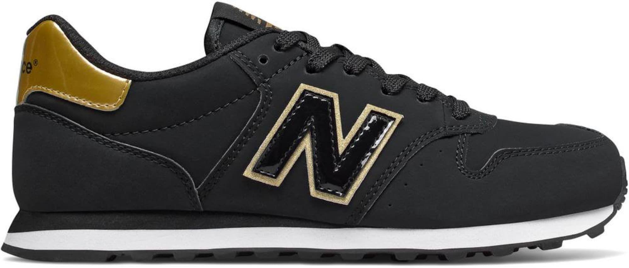 New Balance Sneaker 'GW500HG' Damen, Gold / Schwarz / Weiß ...