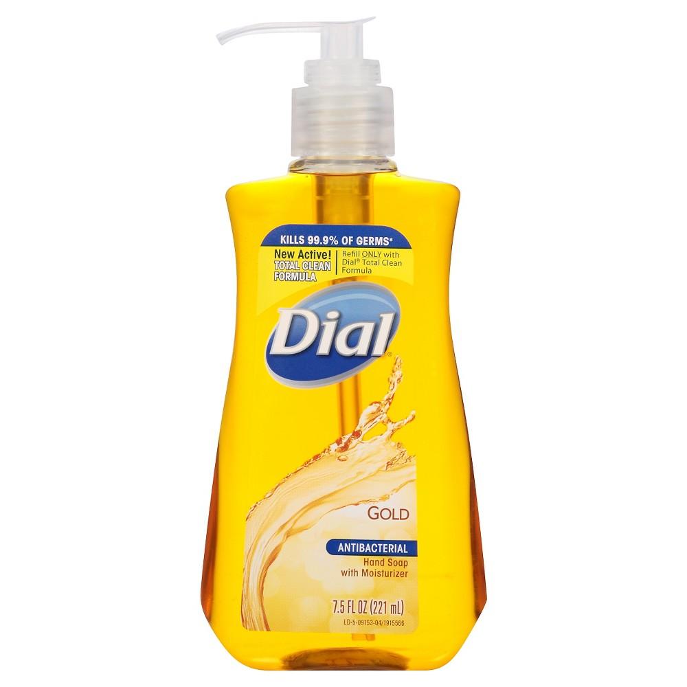 Dial Antibacterial Gold Liquid Hand Soap 7 5oz Liquid Hand
