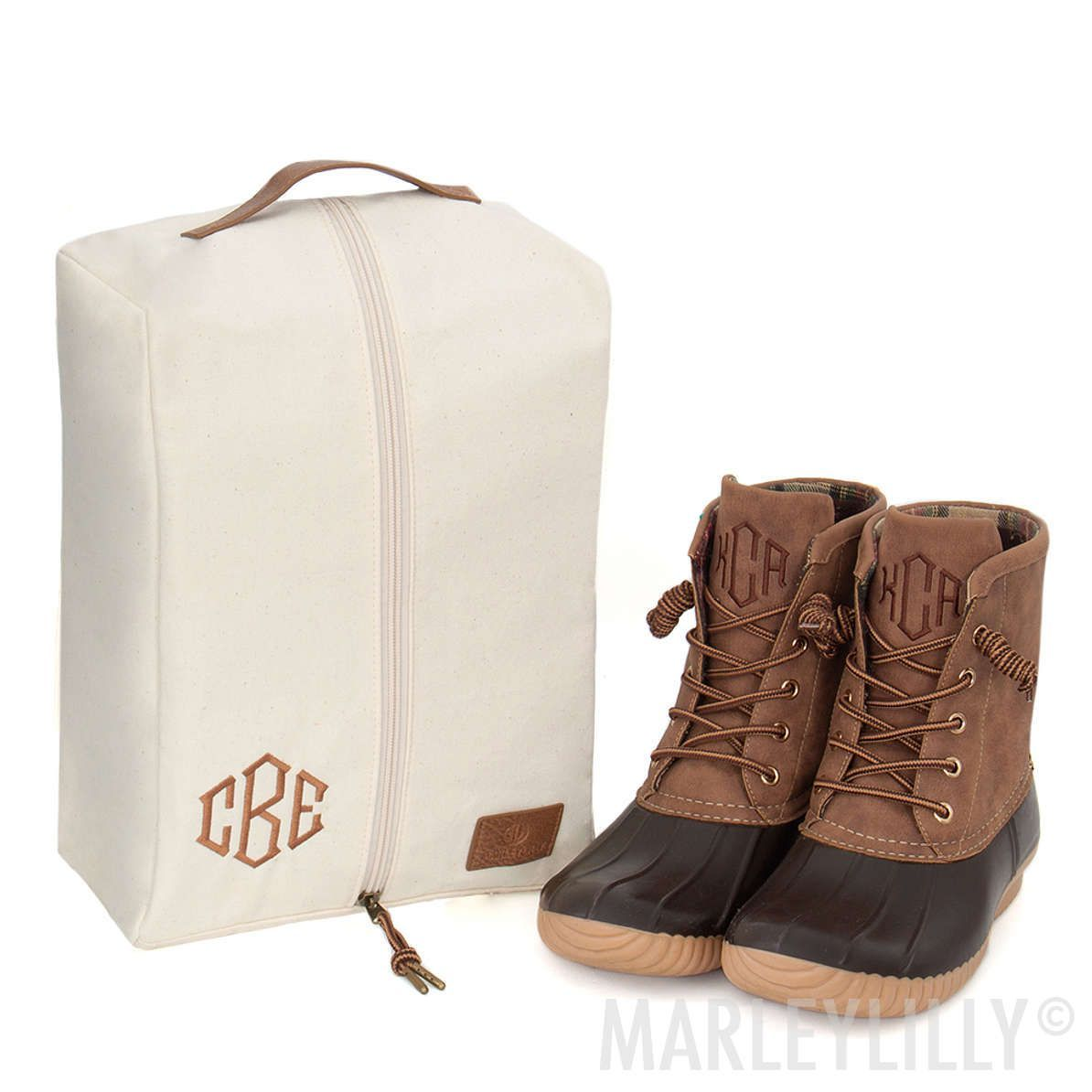monogrammed travel shoe bag bag travel Monogrammed Travel Shoe Bag