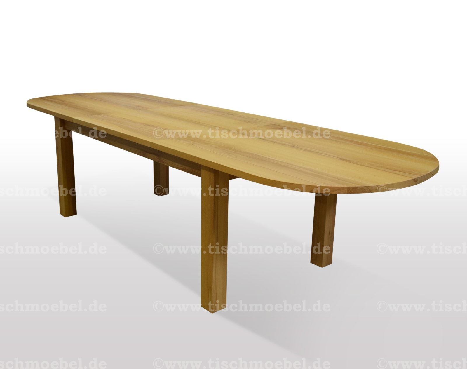 Round to Oval X Base Extension Table Extensions