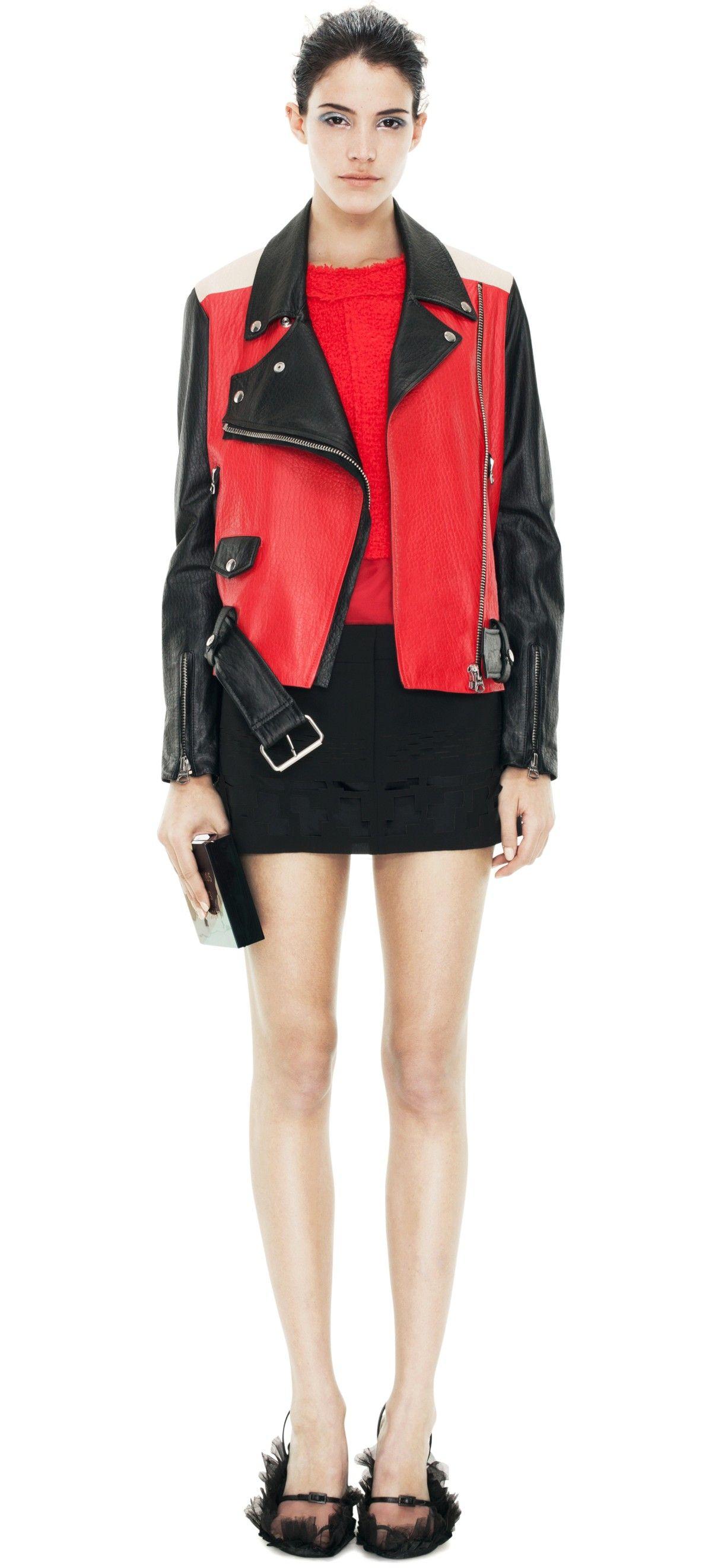 Acne Fall 13 Leather jacket, Jackets, Fashion
