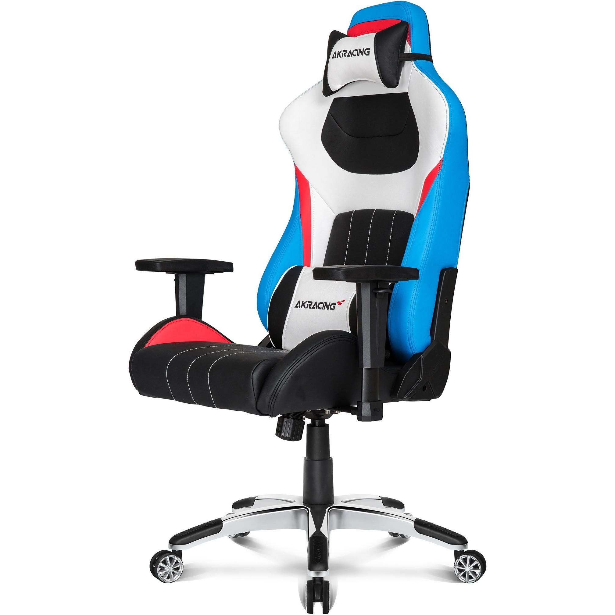 Tremendous Akracing Premium Red White Blue Gaming Chair Gaming Chairs Gmtry Best Dining Table And Chair Ideas Images Gmtryco