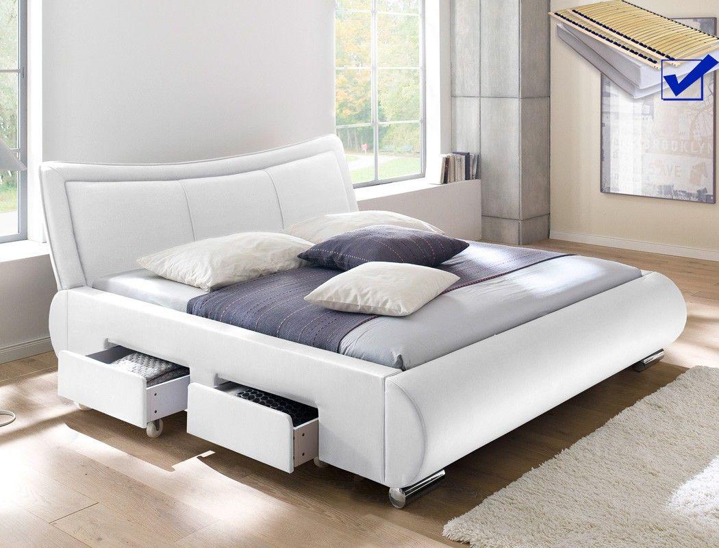 Genial bett komplett mit lattenrost und matratze 180x200