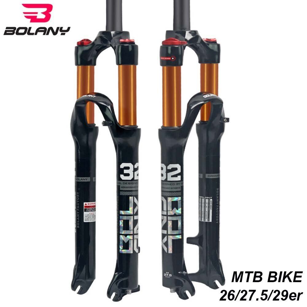 Bolany Mtb Bike Front Fork 26 27 5 29er Inch Magnesium Alloy Air
