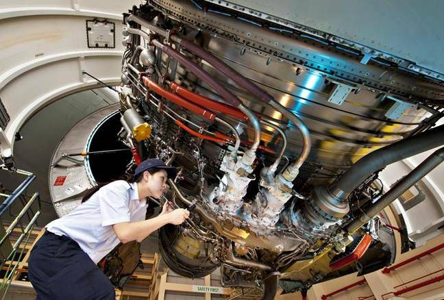 Aerospace Is A Branch Of Engineering That Deals With The Study Of Spaceship And Aircraft Aircraft Maintenance Engineer Aircraft Maintenance Aviation Technology