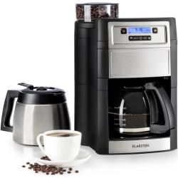 Photo of Aromatica Ii Duo coffee machine, integrated grinder, 1.25 l silver KlarsteinKlarstein