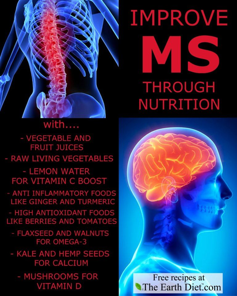 Improve Multiple Sclerosis through nutrition.