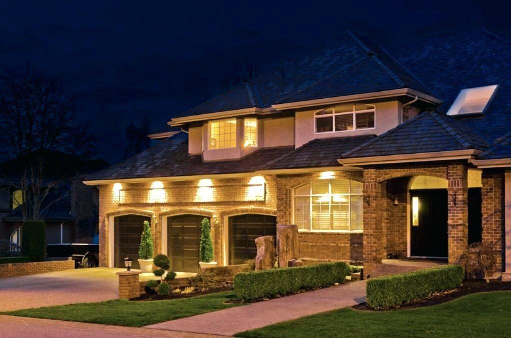 Home Exterior Lighting Ideas Vs Floodlight Outside Lighting Ideas