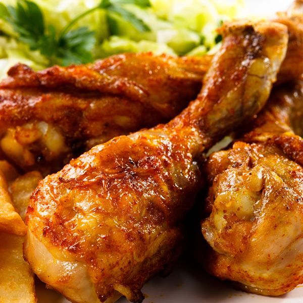 Simple Baked Chicken Drumsticks Recipe From Grandmother S Kitchen Honey Baked Chicken Honey Baked Chicken Recipes Drumstick Recipes