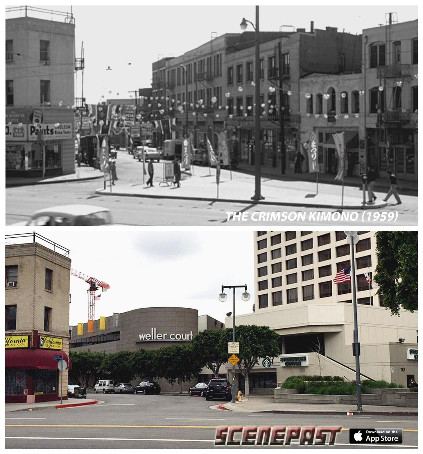 Los Angeles' Film Noir Locations THEN & NOW | We Love L A