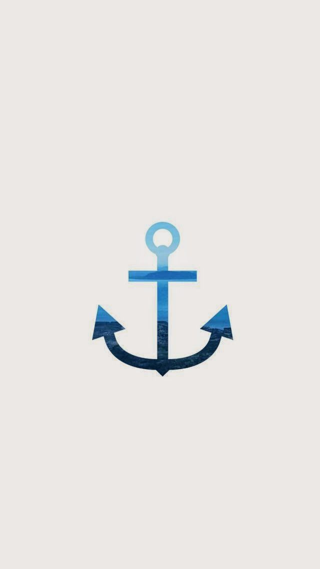 Blue Anchor Wallpaper For Iphone