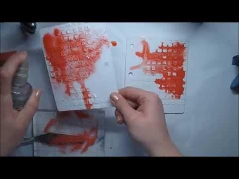 'Love more' art journaling for Limor Webber Design