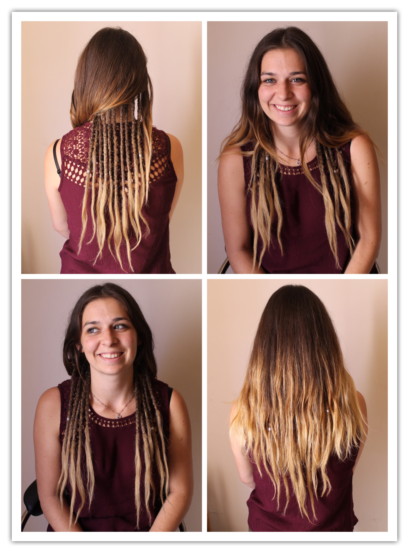 Esto Me Lo Hago Hippie Hair Dreadlock Hairstyles Hair Styles
