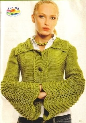 Knitted pullover / jacket | Entries in category Knit pullover / jacket | Community I - skilled workers: LiveInternet - Russian Service Online diary