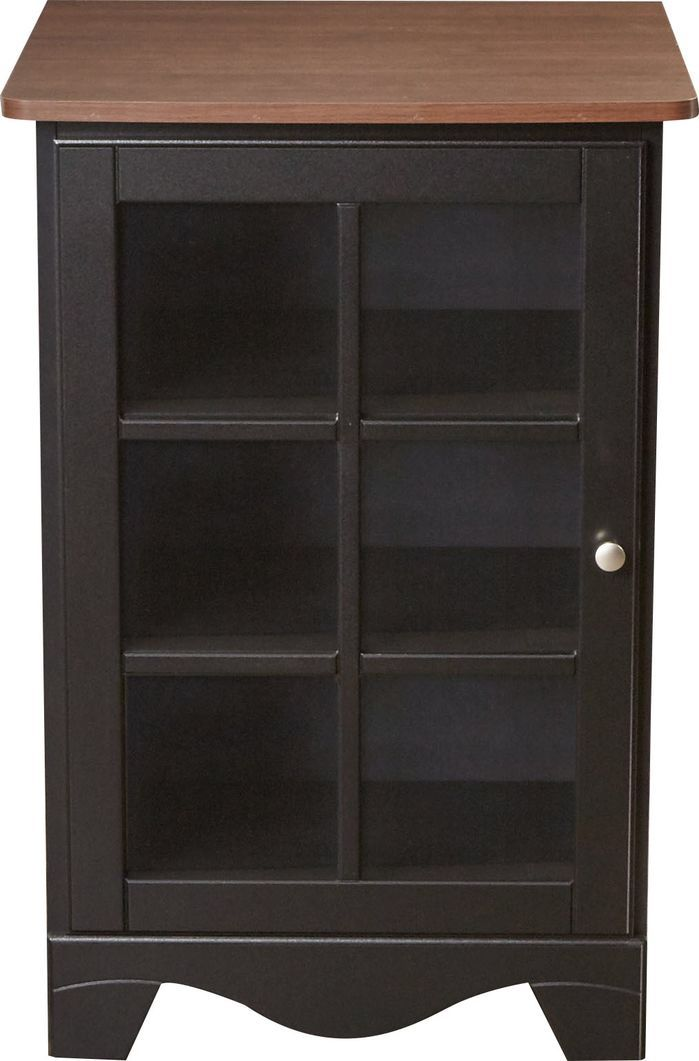 1 Door Audio Tower Audio Rack Stereo Cabinet Bathroom Medicine Cabinet