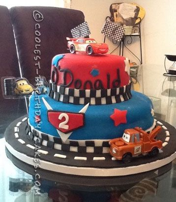 Coolest Cars  Cake For A YearOld Boy Çınar Doğum Günü - Birthday cake cars 2