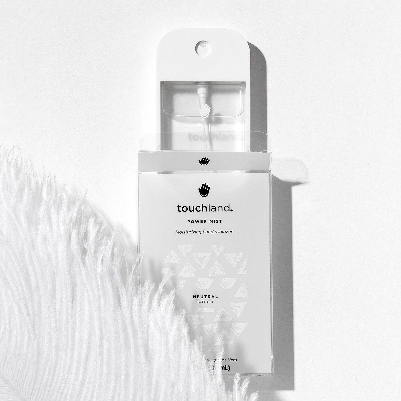 Power Mist Hydrating Hand Sanitizer Spray Neutral Hand