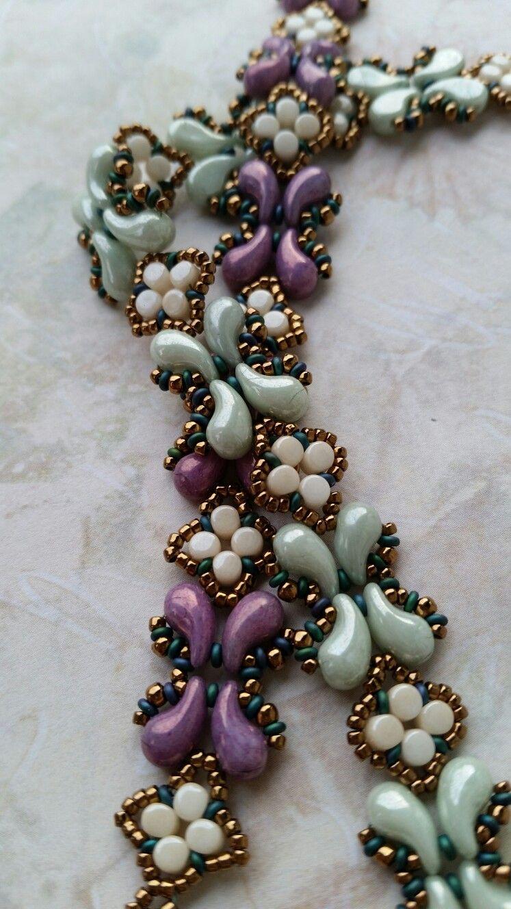 ZoliDuo, Minos, demi bracelets | beaded jewelry | Beaded ...