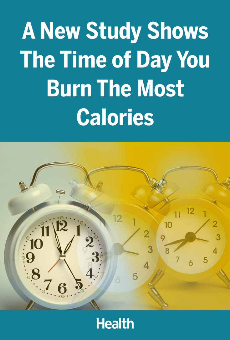 You Burn the Most Calories at This Time of Day, New Study ...