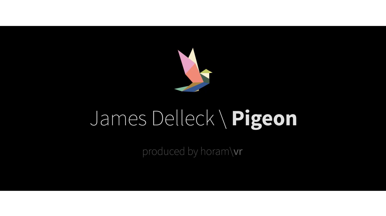 "Teaser : James Delleck ""Pigeon"". French VR musical clip. By horam\vr."