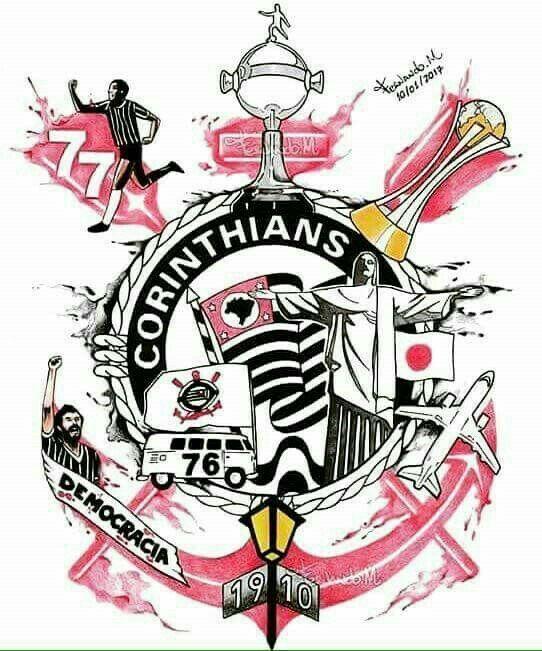 Sport Club Corinthians Paulista Com Imagens Desenhos Do