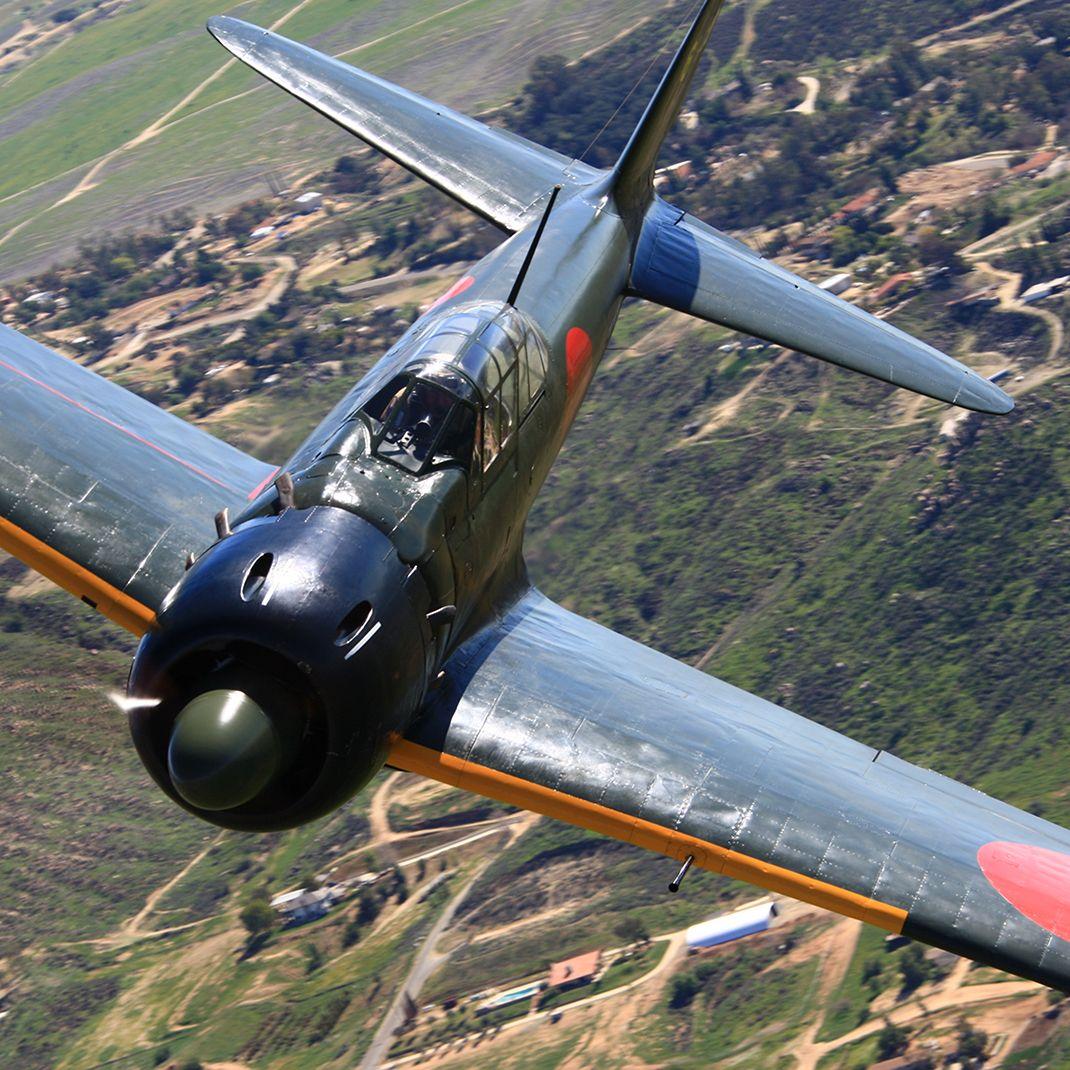 最も有名な零戦 中島第5357号 の数奇な運命 零式艦上戦闘機 ゼロ