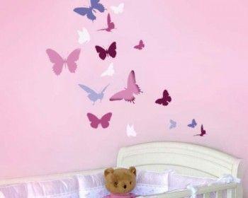 Decoracion paredes cuarto de ni a buscar con google - Paredes habitaciones infantiles ...