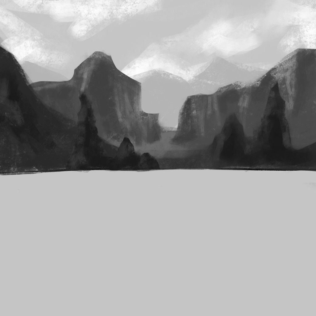 Study Of Values And Linear Perspective With Images Landscape Nature Landmarks