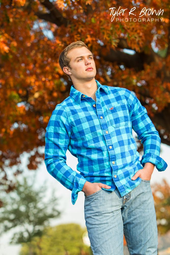 Ethan Luman - Fall - Senior Photos - Class of 2015 - Liberty