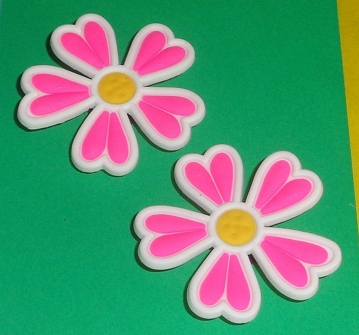 338053cd4c136 Details about Just Flowers Shoe Charms Shoe Buttons Shoe Pins Crocs ...