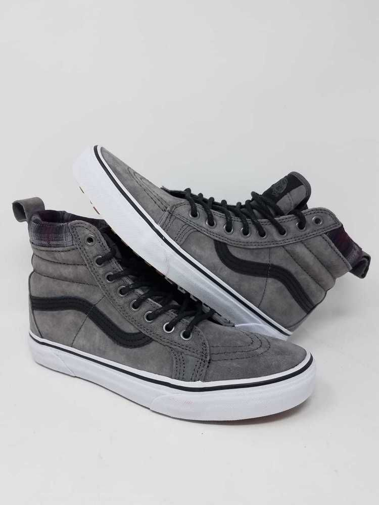 5cad5899b094 VANS SK8 HI MTE PEWTER PLAID ATHLETIC SKATE CASUAL MEN S SIZE 7 NEW WITHOUT  BOX