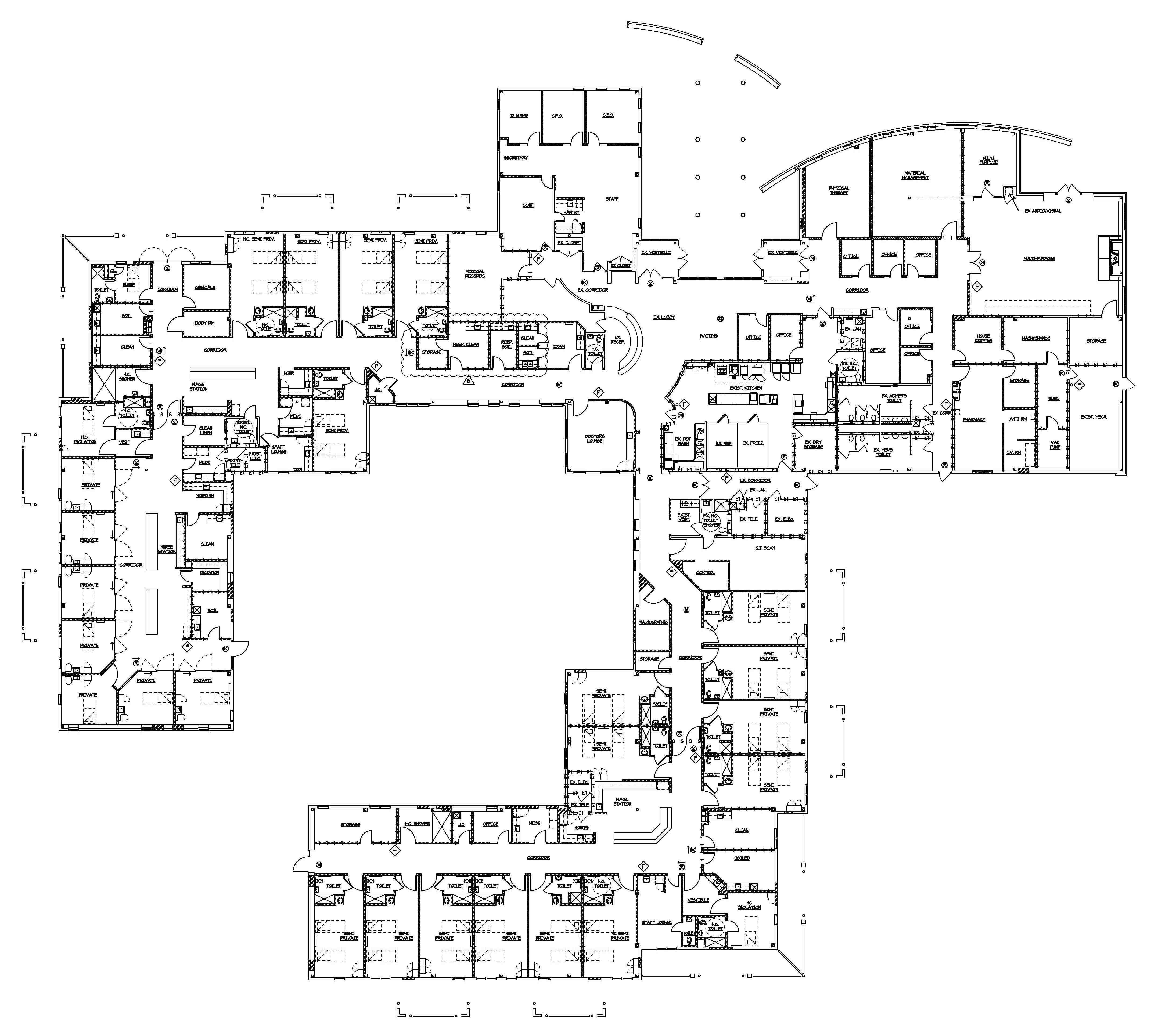 hospital facility layout Healthcare facility design is more than picking the right wall colors or materials if done well, healthcare facility design and planning can transform your organization and improve safety, operations, and the bottom line.