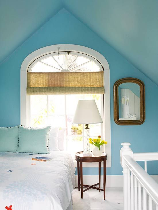 Bedroom Color Ideas Blue Bedrooms Window, Hue and Shades
