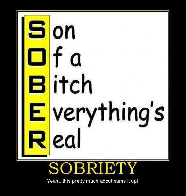 funny sobriety quotes