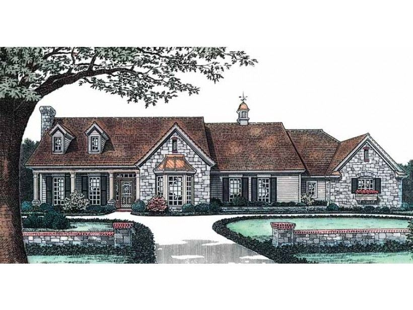 home plan homepw21993 is a gorgeous 1966 sq ft 1 story 2 bedroom french country house planseuropean - 1 Story French Country House Plans