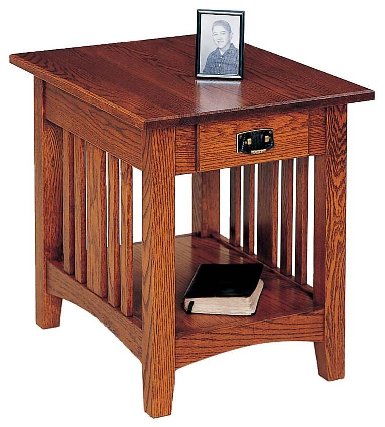Mission End Table by Keystone Living rooms Woodworking and Room