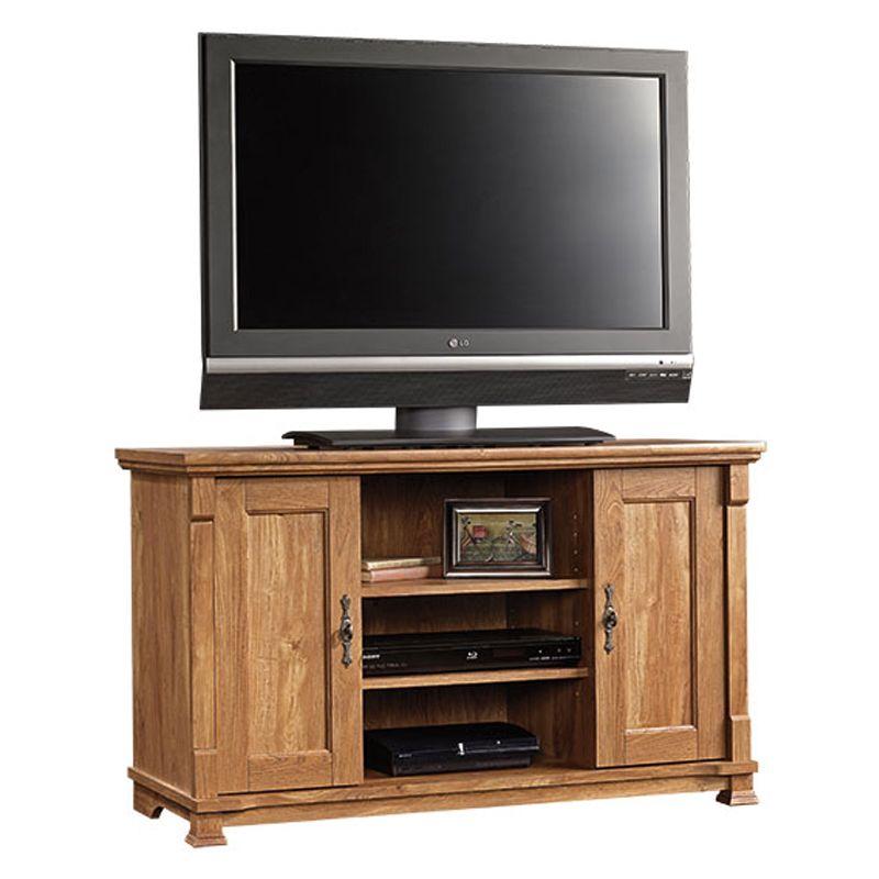French Mills TV Stand In American Chestnut | Nebraska Furniture Mart