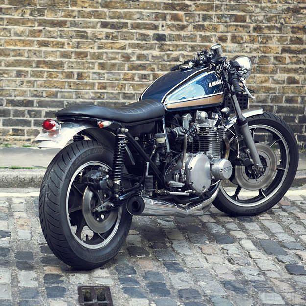 kawasaki kz1000 custom | mopeds, custom motorcycles and cafe racer