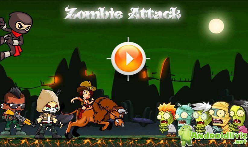 Zombie Attack v1.0 Mod Hileli APK indir