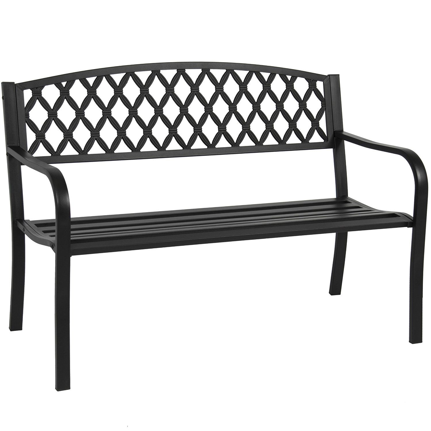 "Amazon Best Choice Products 50"" Patio Garden Bench Park Yard"