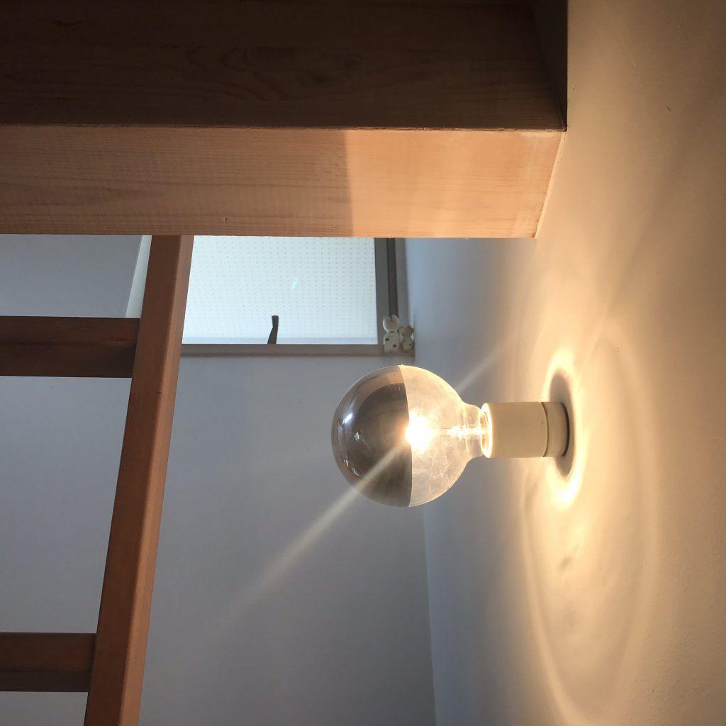 裸電球を使った照明