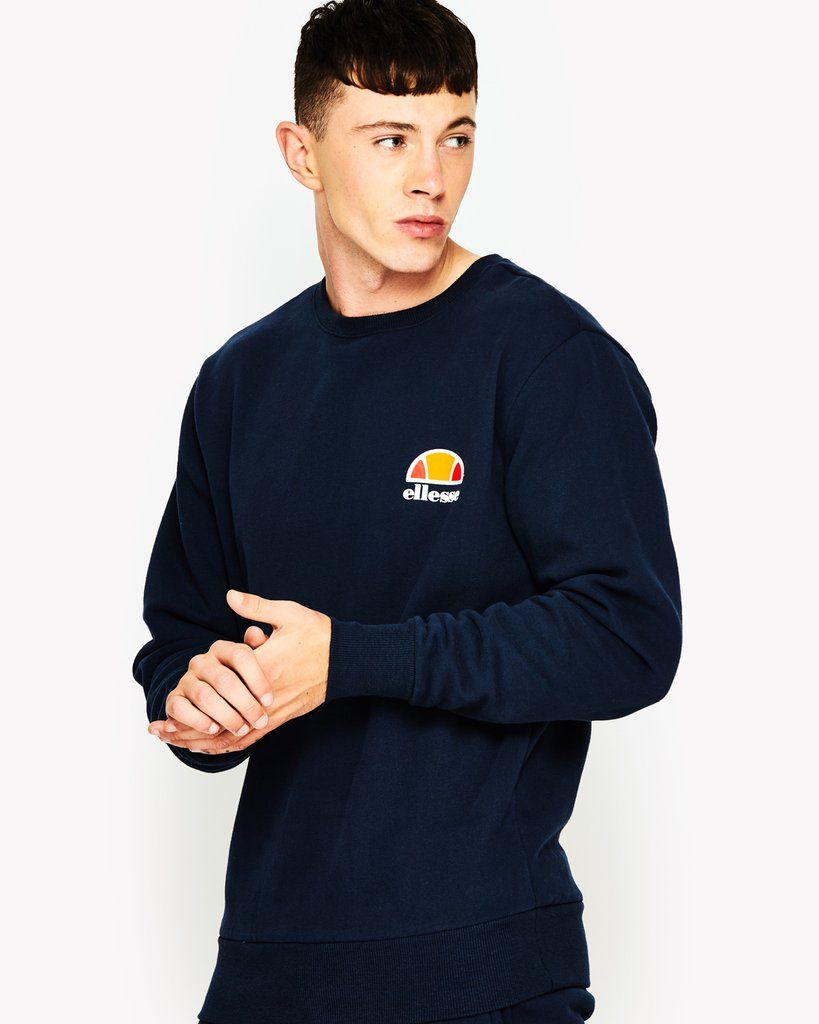 1f27f4a9 Buy The ellesse Diveria Crew Sweat Navy and the full range of ...