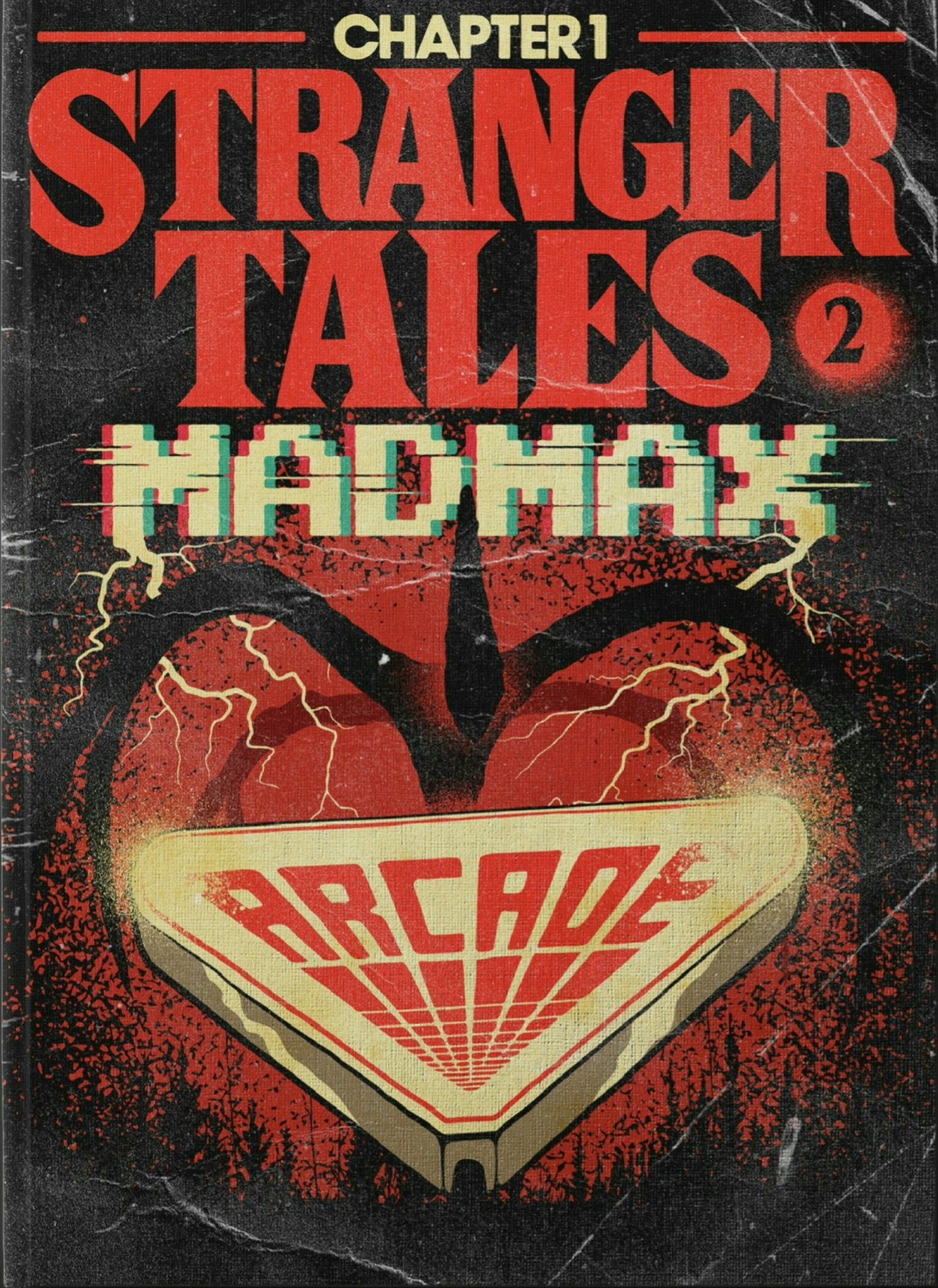 Stranger Things Fan Made Book Covers Credit To Artist Stranger