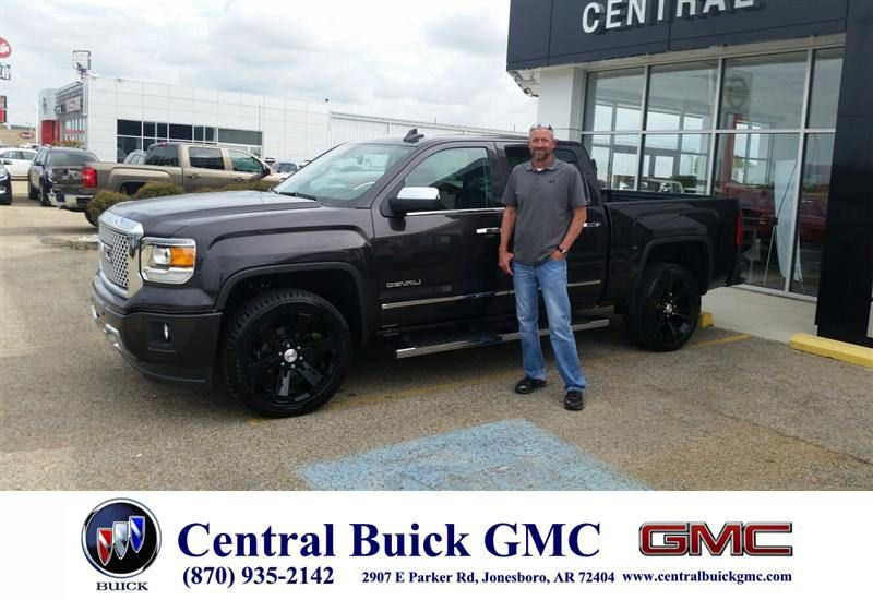 Congratulations To Bobby Forrester On Your Gmc Sierra 1500 Purchase From Ronnie Nichols At Central Buick Gmc Newcar Buick Gmc Gmc Buick