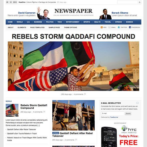 newspaper WordPress theme   Desarrollo Web   Pinterest   Wordpress